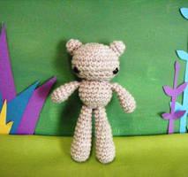 little bear in brown by rosieok