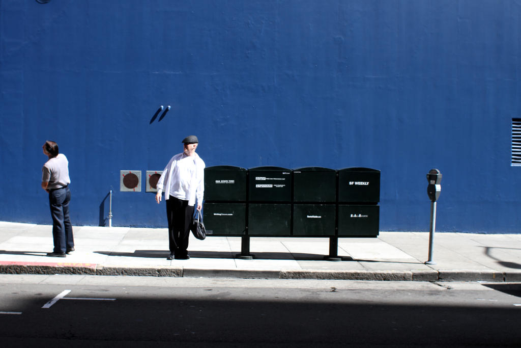 San Francisco Blue by djailledie