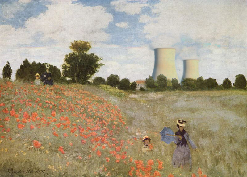 What if Claude Monet was born in 1950? by djailledie