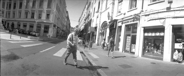 Rue Paul Chenavard, Lyon, France, June 2017