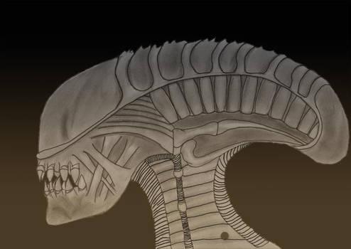 Stunted Xenomorph brown - ish