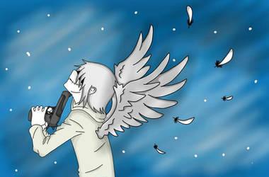 Anime Angel Suicide by Turn-the-Madness666