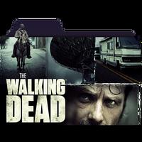 The Walking Dead Folder Icon _ by KiritoALG