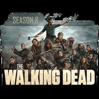 The Walking Dead Season 8 Folder Icon _ by KiritoA