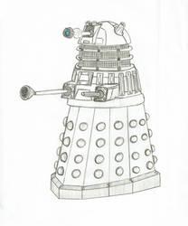 Dalek - Doctor Who by Juborg