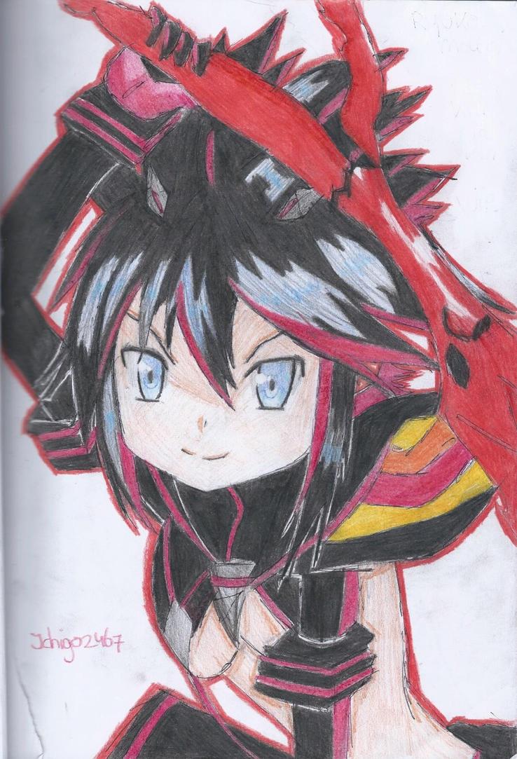 Kill la Kill - Ryuko Matoi by Ichigo2467