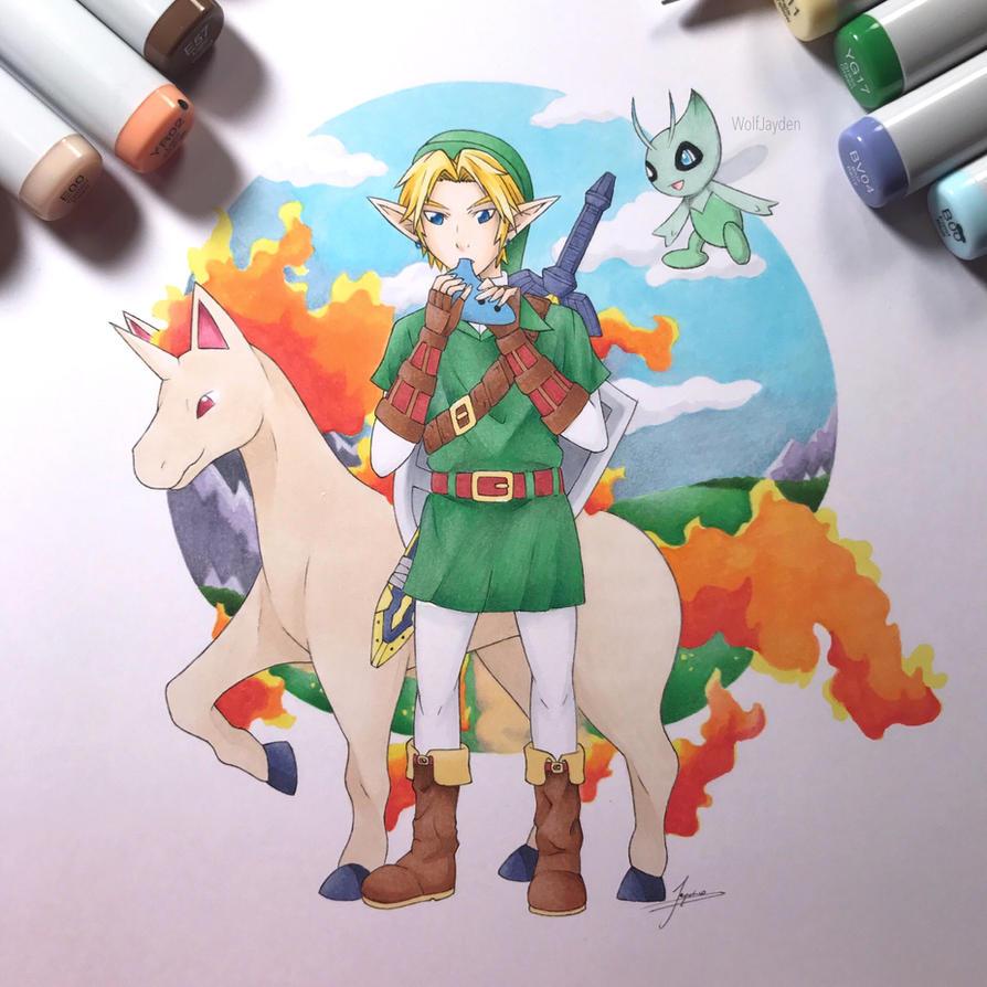 Pokemon/Zelda Crossover by WolfJayden