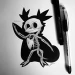 Skeletal Delibird