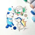 Pokemon Legends Starters