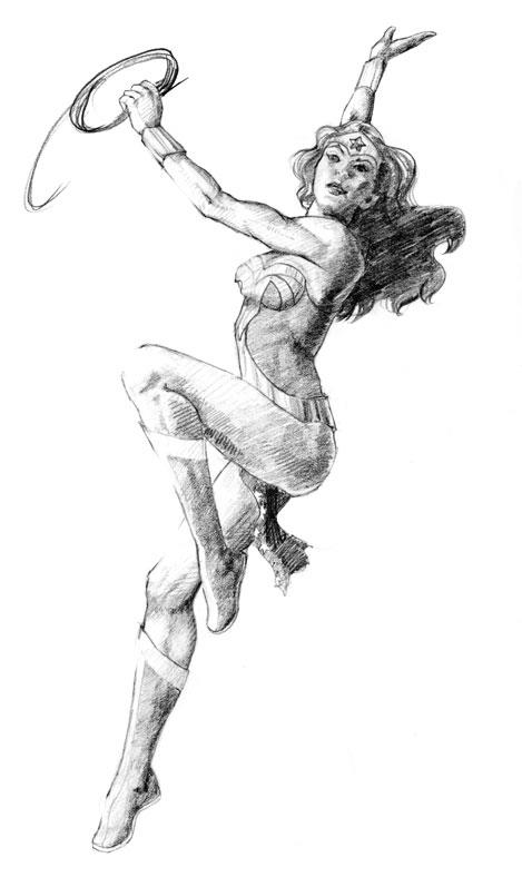 Wonder Woman by DanaeOP