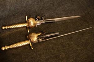 Dagger Pistol Set by WillKing156