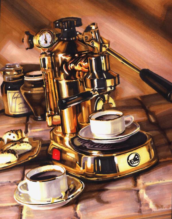 coffee by elroychong
