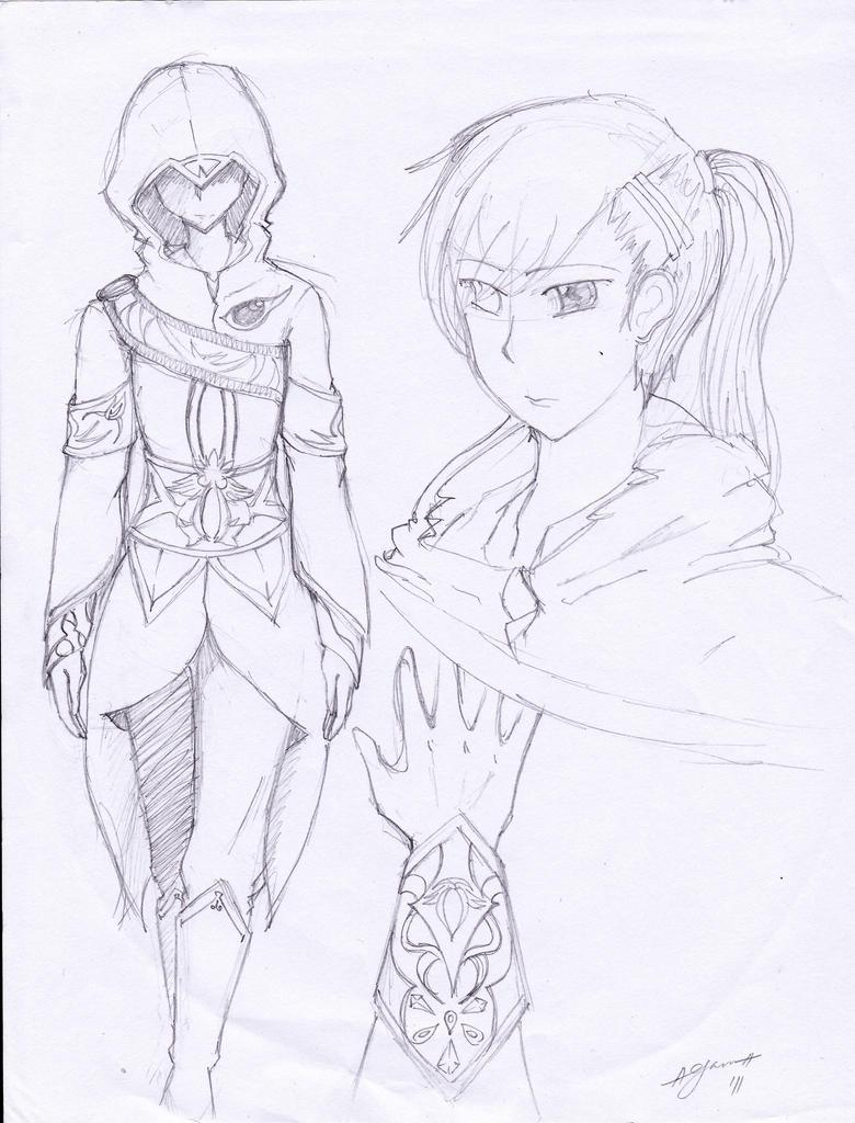 Assassin Girl by emilialight on DeviantArt