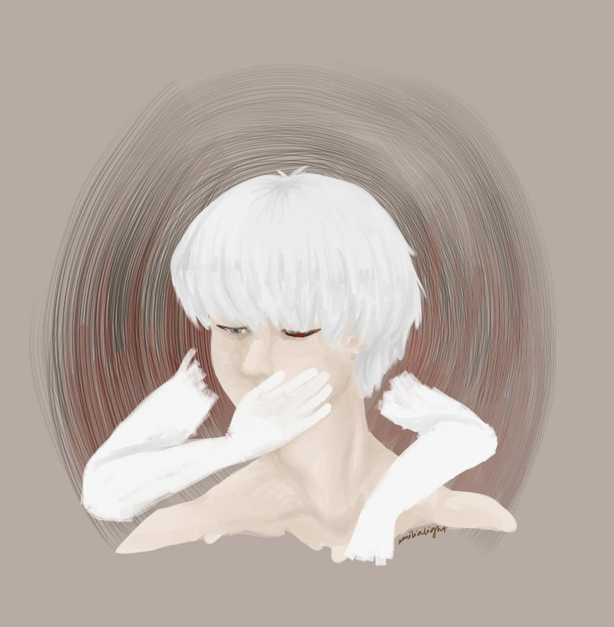 TKG: Kaneki by emilialight