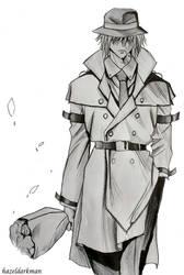 Sven Vollfied trench coat by hazeldarkman