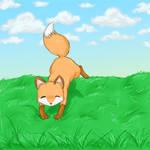 A foxy doodle