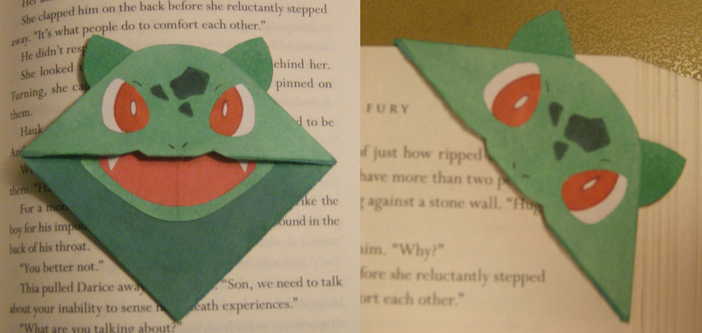 Bulbasaur Bookmark By Bishiglomper On Deviantart