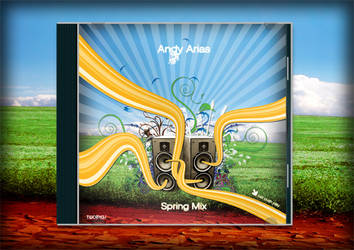 Andy Arias Spring Mix CD cover