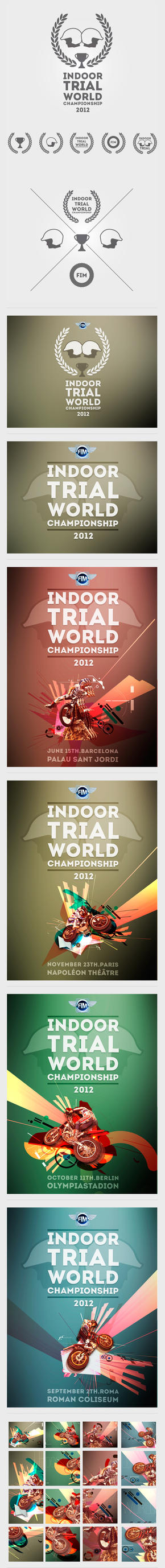 FIM Indoor Trial World Championship by badendesing