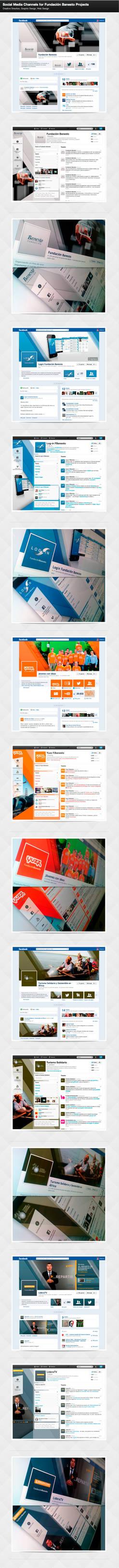 Social Media Channels for Banesto Fundation