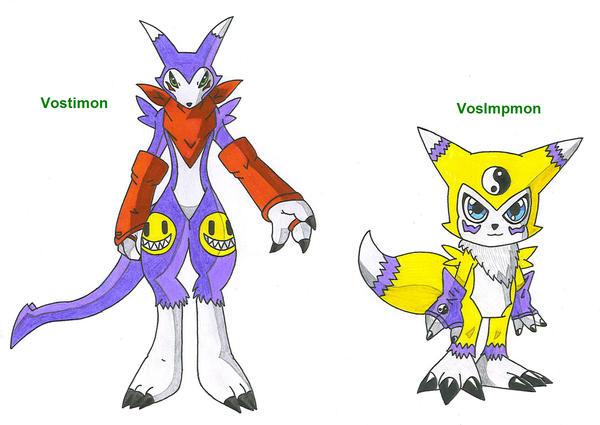 vostimon and vosimpmon by impmonfansunited on deviantart