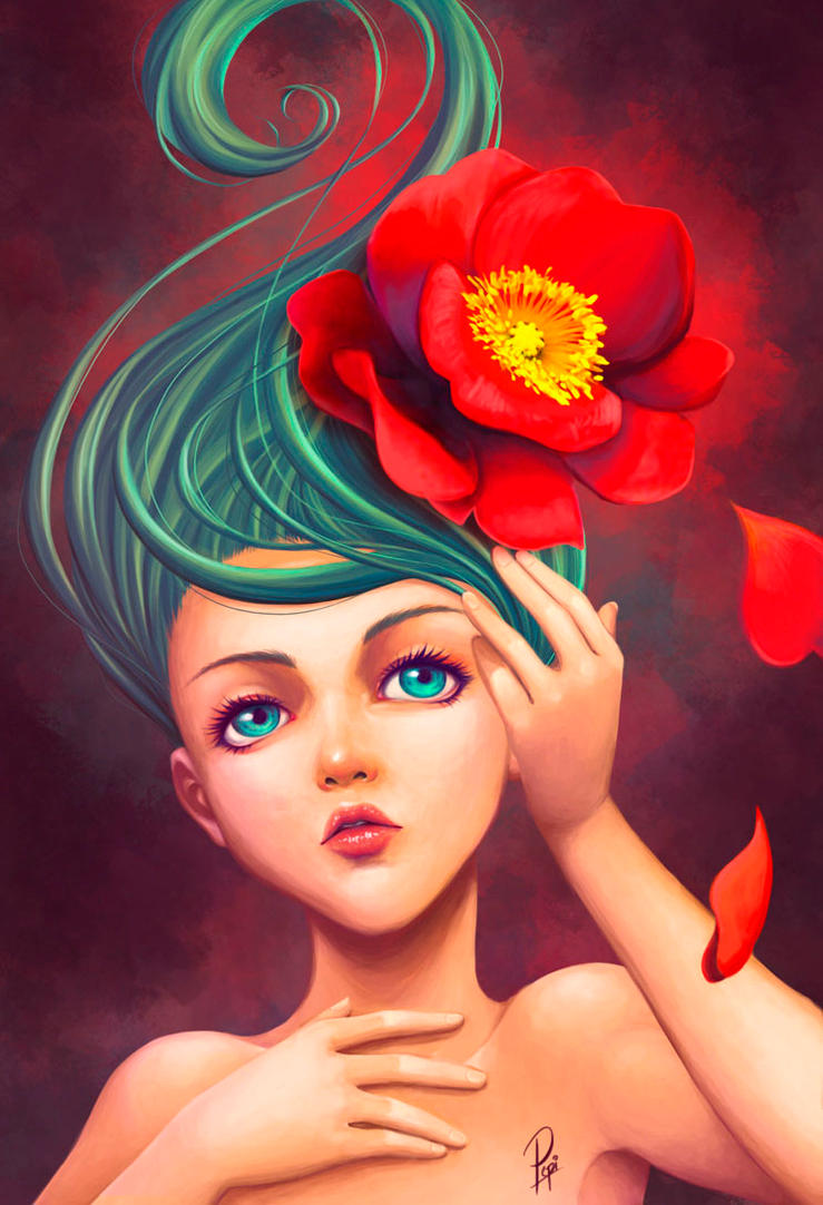 Flower by PepiGonzalez