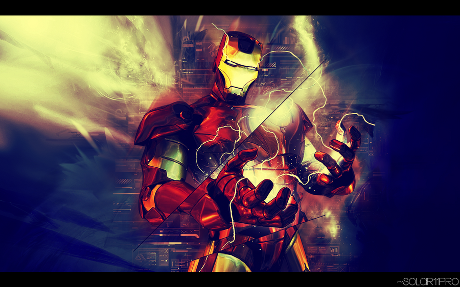 Iron Man Artwork by Solar11pro