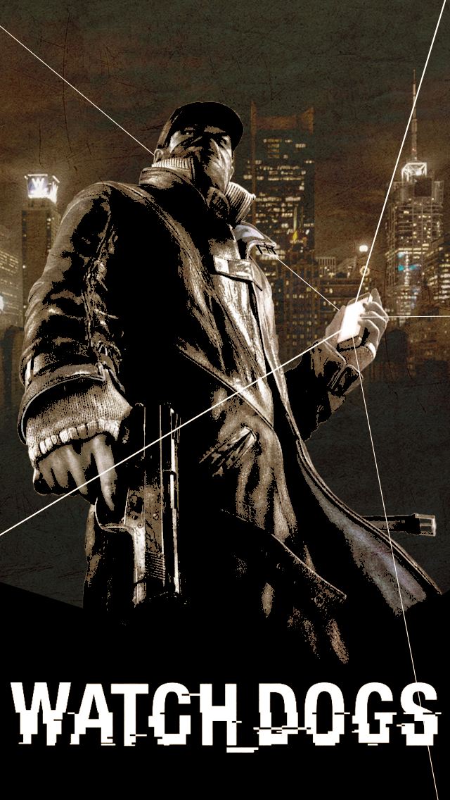 Watch Dogs iPhone Wallpaper by Solar11pro on DeviantArt