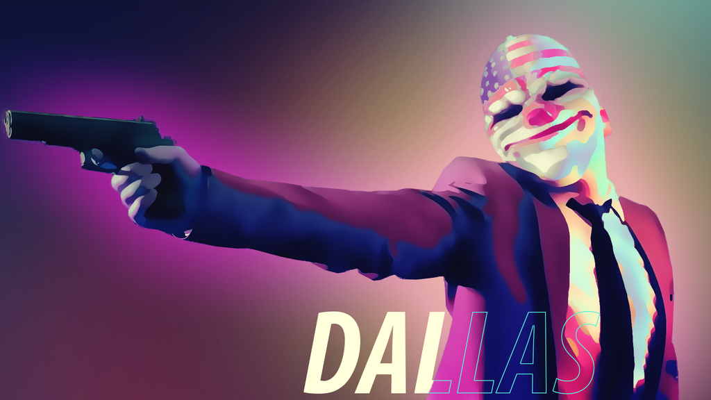 Payday 2 Dallas Wallpaper (1920 X 1080) By Solar11pro On