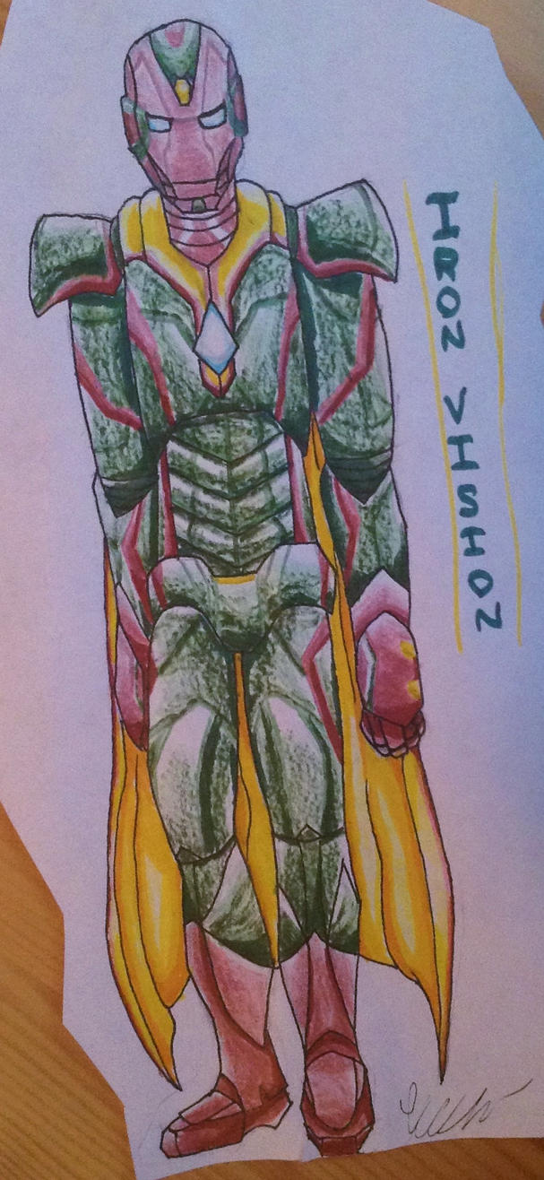 Iron Vision (Iron Man Armor Concept) by torteraex on DeviantArt