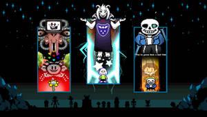 Undertale Final Bosses by GizmoGamer2000