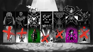 Undertale: Genocide Bosses by GizmoGamer2000
