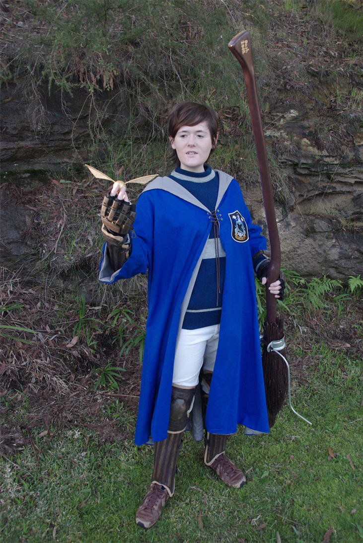 Ravenclaw quidditch player cosplay by DashyProps on DeviantArt
