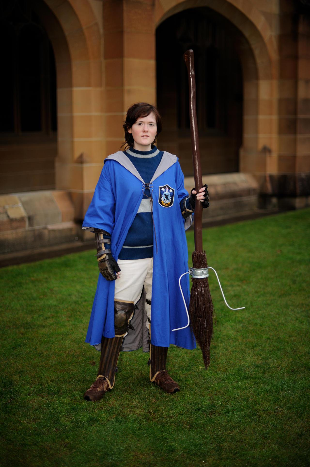 Ravenclaw quidditch player cosplay by DashyProps on DeviantArt