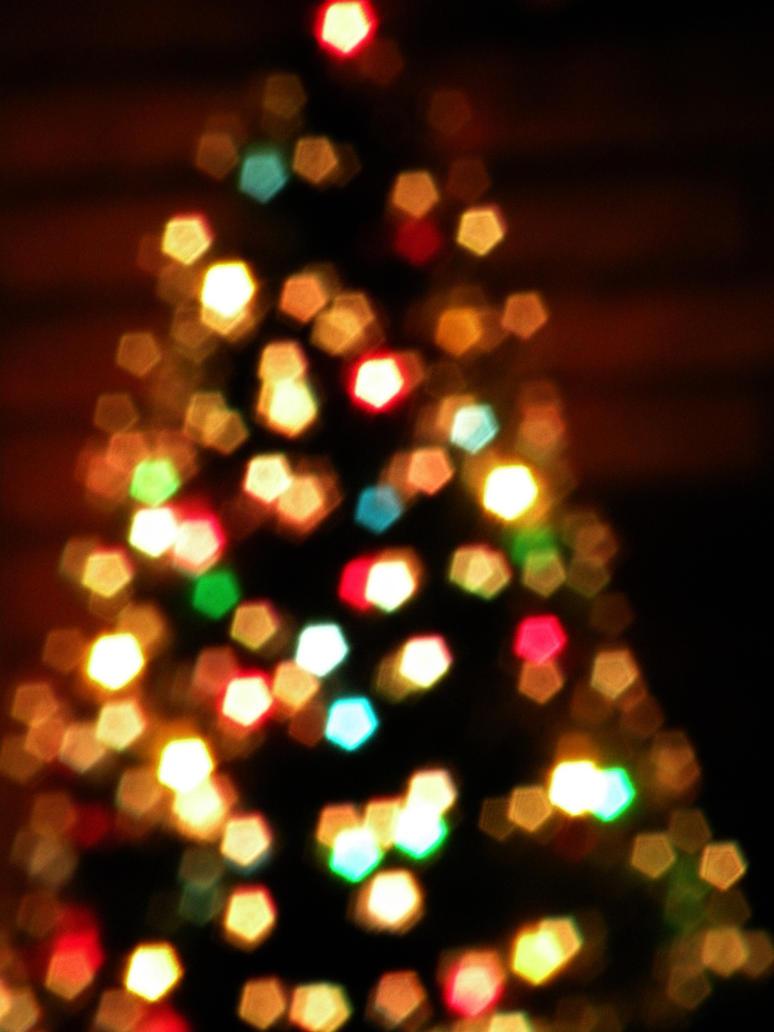 Multi Colored Christmas Tree Lights