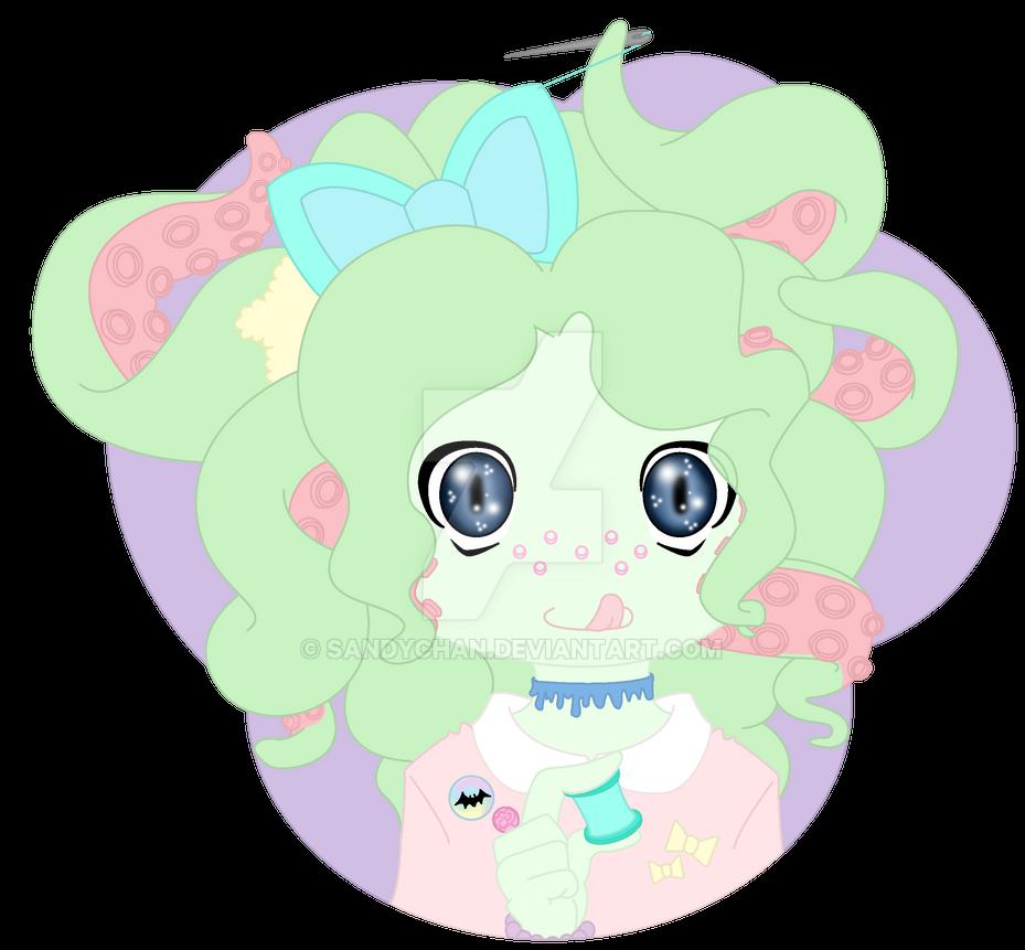 Tenticurls Mascot by SandyChan