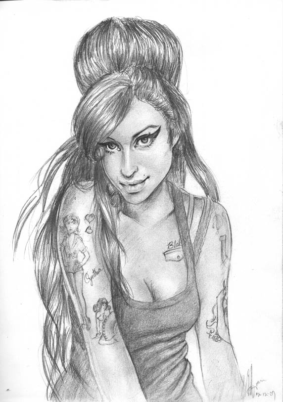 Amy Winehouse by MurphysDinnerParty