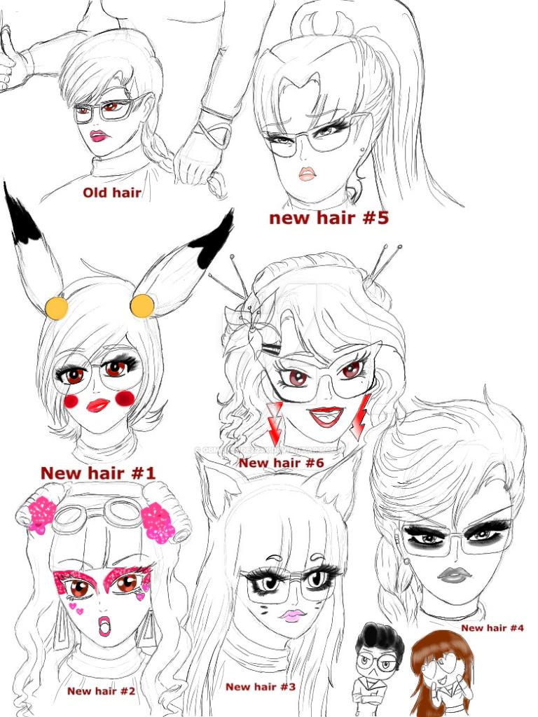 Deborah goes to the stylist by GBMelendez23k
