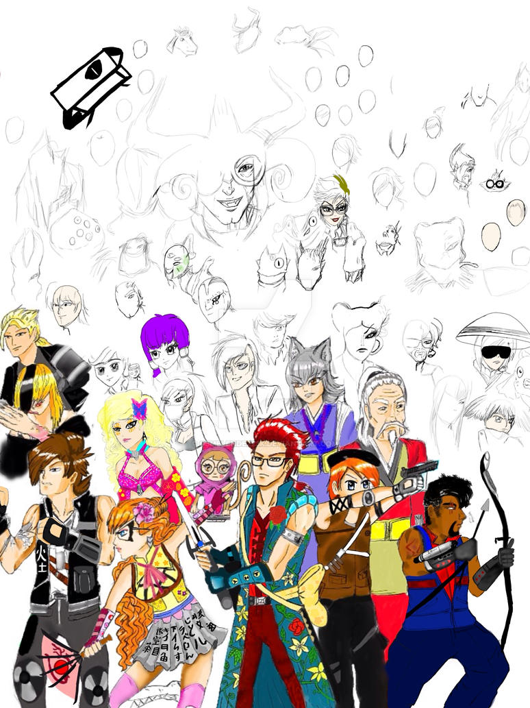 The specter Stoppers poster w.i.p. by GBMelendez23k
