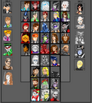 The Ghost Corps roster