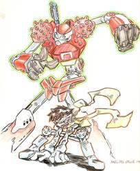 jin from cyberbots by ripperax