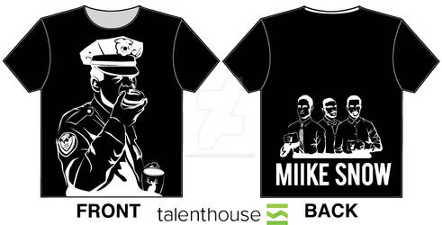 Miike Snow T-Shirt Design Contest