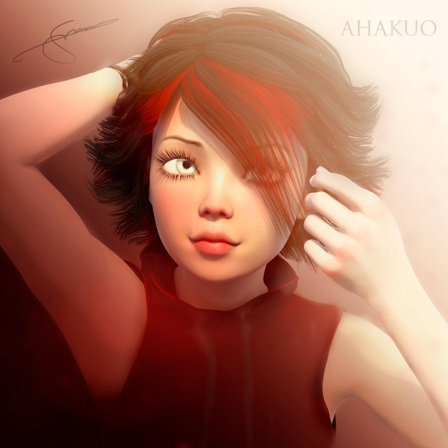 Ruby Rose New Hairstyle By Ahakuo On Deviantart
