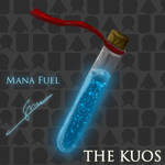Mana - Fuel Bottle (The Kuos lore book)