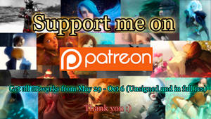 Support me on Patreon :)