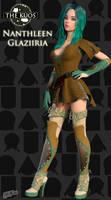 Nanthleen Glaziiria - 'The Kuos' Character Concept