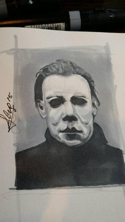 Michael Myers  by JimmyChang83