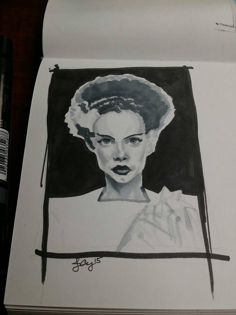 Bride of Frankenstein by JimmyChang83