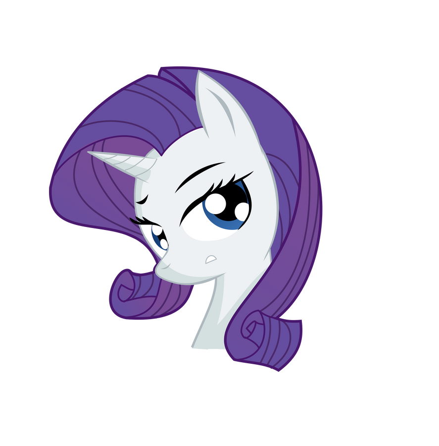 A colored version of my Rarity picture by TurboDudley