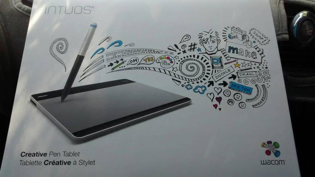 I got a Wacom Intuos Pen Tablet  by TurboDudley